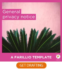 General privacy notice