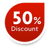 50% Discount